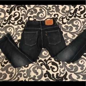 Distressed Boy's Levi's size 8 Soft Jeans